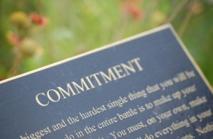 THE MECHANICS OF PRAYER: Commitment — Holding fast to the hand of God Julia Marks