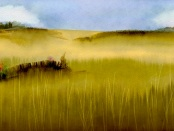 Landscape — Wheatfields, by Thomas Merton