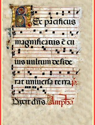 chanting psalms