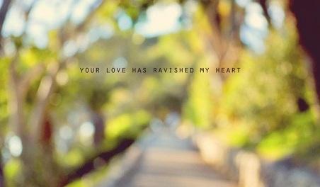 You Have Ravished My Heart Walter J. Burghardt