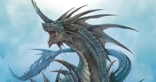 Sea Dragons by Gavin Bantock