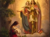 The Shepherdess Of Domremy (Joan of Arc) Hearkening To Her Voices by Thérèse of Lisieux