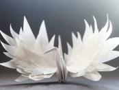 paper cranes thomas merton