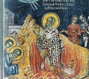 On Making The Martyrdom Of Saint Polycarp — Writing the True Icon by Scott Cairns