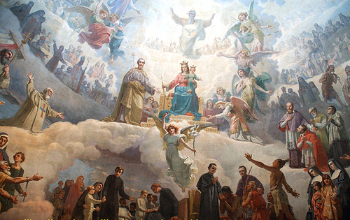 array of saints poetry thomas merton
