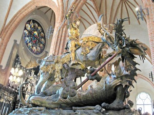 St. George, The Dragon, And The Virgin by Robert Bly