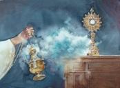 With The Silent Glimmer Of God's Spirit, by Lambert J. Leijssen