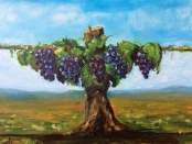 JESUS: The Vine by Wendy M. Wright