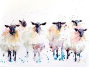 The Sheep Herd by Sister Mariella