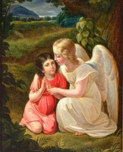 A MOTHER'S PRAYER TO THE GUARDIAN ANGEL OF HER CHILDREN