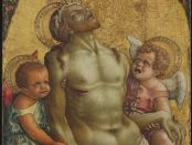 Angel From Pieta by Crivelli