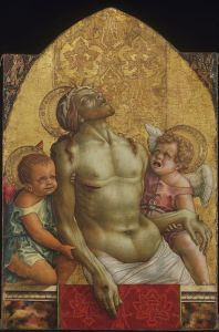 Angel From Pietà by Crivelli