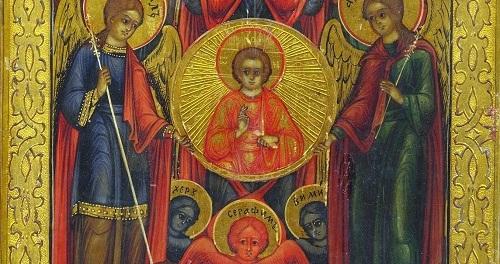 Michael, Gabriel, Raphael, Archangels by Kathleen Norris