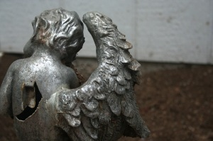 angel with broken wing