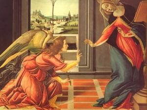 The Annunciation Edwin Muir