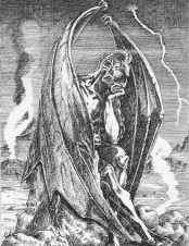 The Fall Of Lucifer, from Piers Plowman