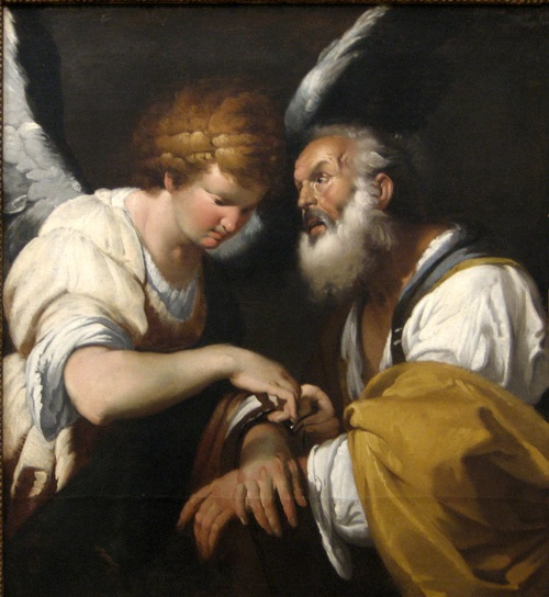 St. Peter and the Angel by Denise Levertov
