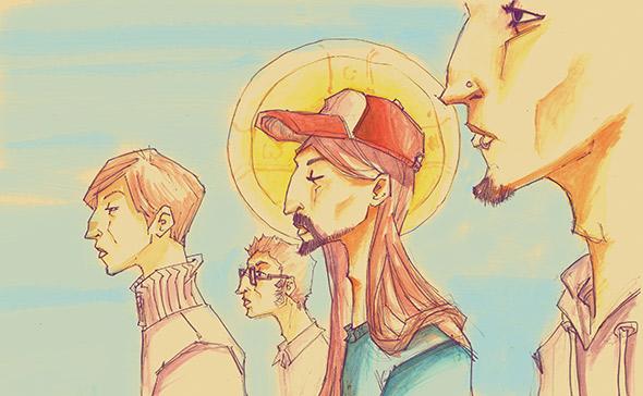 Illustration by Remus Brezeanu.