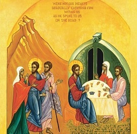 Meditation On The Road To Emmaus by The Monks of Norcia