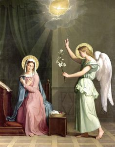 Annunciation by Raymond Chapman