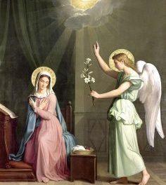 Annunciation by Raymond Chapman