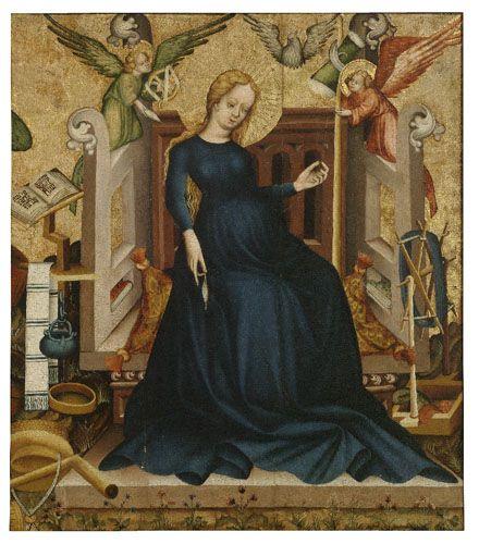 Mary's Girlhood by Gabriel Charles Dante Rossetti