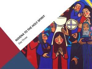 Novena To The Holy Spirit—Day Three, Peace, by Philip Bochanski