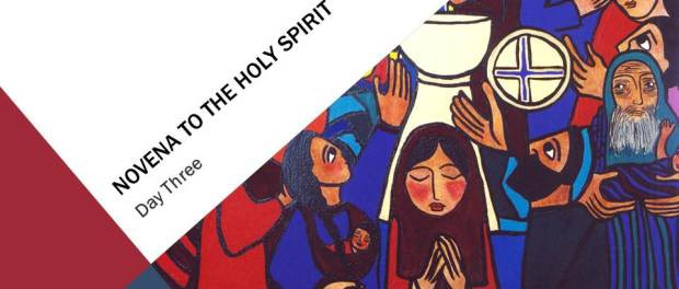 Novena To The Holy Spirit—Day Three, Peace, by Philip Bochanski