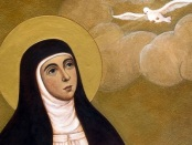 St. Teresa Of Avila And Prayer by Ernest E. Larkin