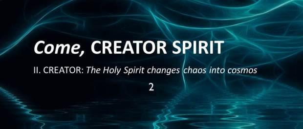 The Creator Spirit In Scripture by Raniero Cantalamessa