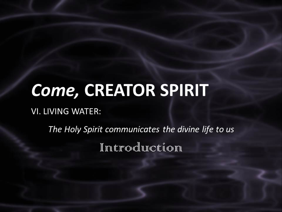 the spirit of life essay Holy spirit essays: home » essay » holy spirit knowing how they intertwine with each other will help us have a better prayer life and.