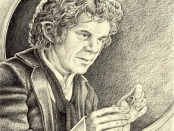 Bilbo Baggins by Philip Harnden