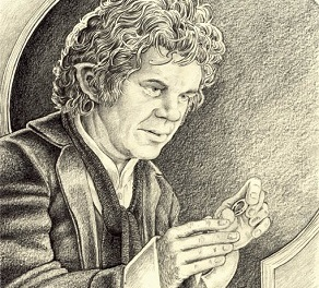 Bilbo Baggins by Philip Harnden