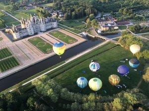Chambord balloons