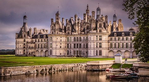 Chambord, France—Gaining Perspective by Albert Holtz