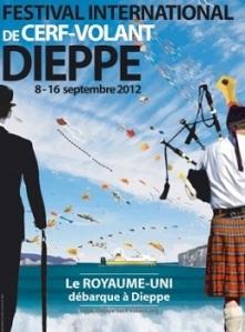 Dieppe Kite Festival poster