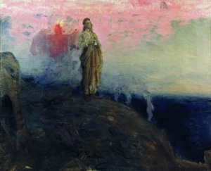The Fifth Week of Lent by Albert Holtz