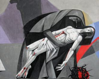 13 Jesus Is Taken Down From The Cross by Caryll Houselander