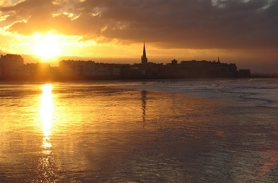 Saint Malo, France—Giving Thanks by Albert Holtz