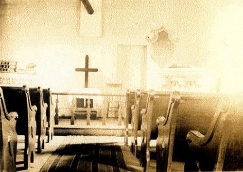 In Church by R. S. Thomas