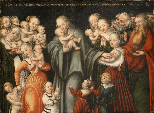 Christ Blessing the Children, Lucas Cranach the Younger, date unknown