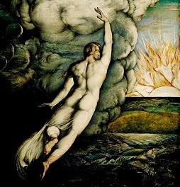 Creation of Light, George Richmond (inset)