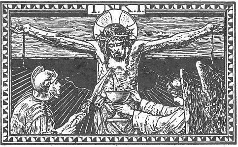 Image result for blood of christ side