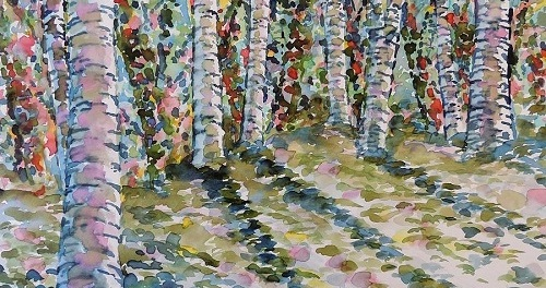 The Birch Grove by Seamus Heaney