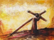 The Sorrowful Mysteries—The Carrying Of The Cross by John O'Donohue