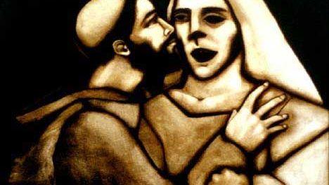 Francis Meets A Leper by David Citino
