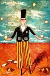 Juggler by Richard Wilbur