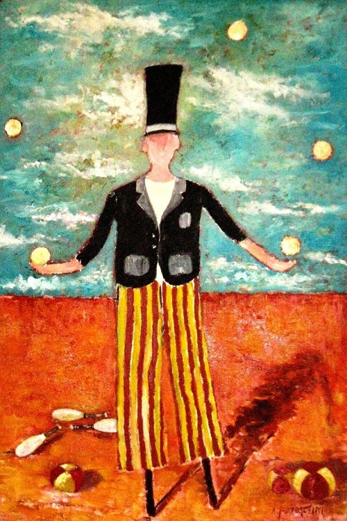 Juggler by Richard Wilbur