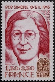 One Who Paid Attention—Simone Weil On A Postage Stamp by Leighton Ford