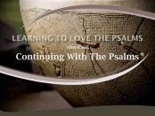 Continuing With The Psalms by W. Robert Godfrey